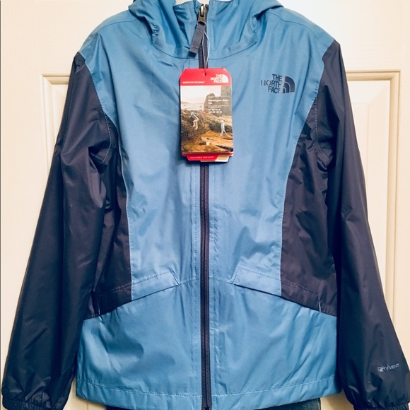 0b2035904 North Face Zipline Rain Jacket. Girls Size 5, NWTs NWT